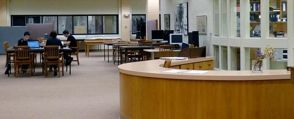 Salle de lecture Angus-Gilbert