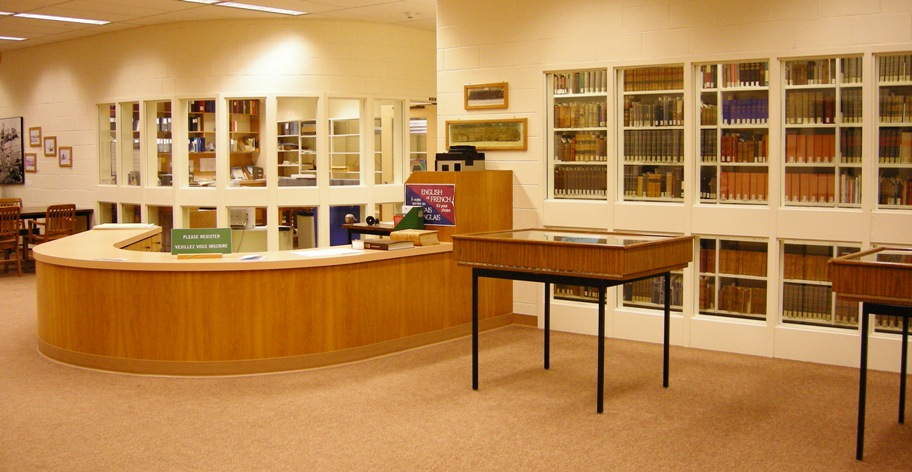 photo of archives area